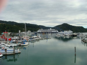 Picton Harbour, NZ 2009.