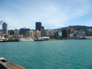 Wellington Harbour, NZ.  2009