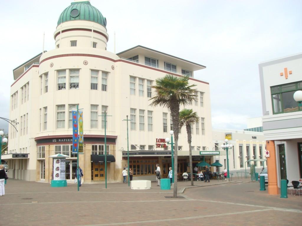 Napier Town Square, NZ.  2009