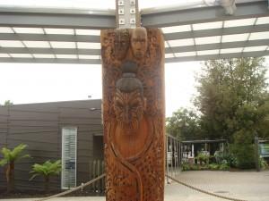 Mauri Tribal Pole, Rotorua NZ. 2009