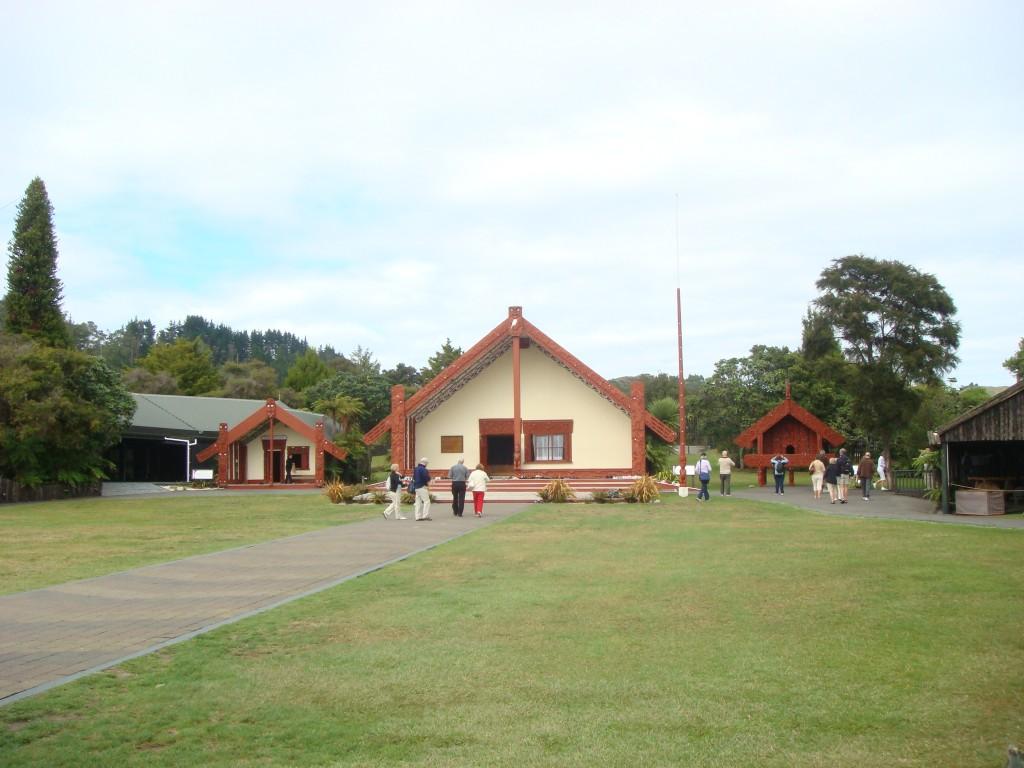 Mauri long house near Hauturu, NZ.  2009