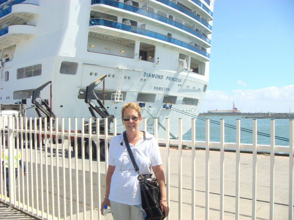 Pam and the Diamond Princess, Melbourne.  2010
