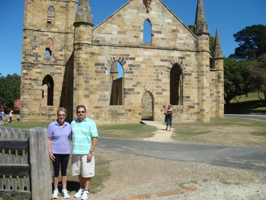 The Church at Port Arthur, Tasmania. 2010