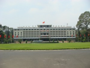 The Reunification Palace, Saigon.  2010