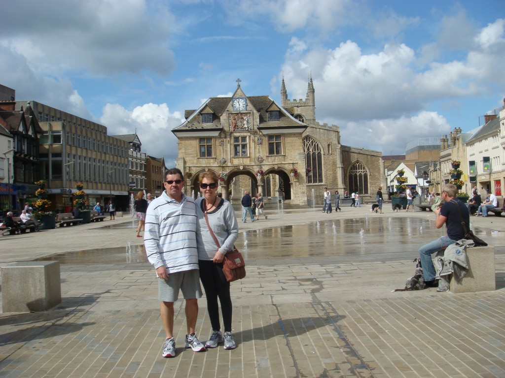 The Town Square, Peterborough, England.  2011