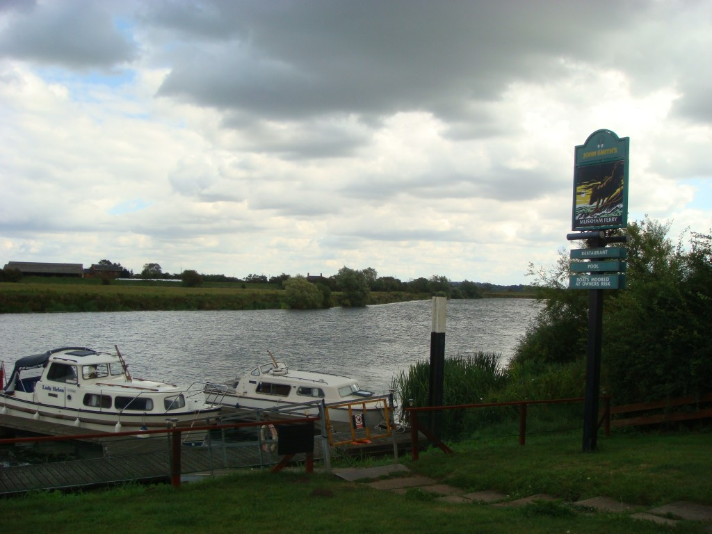 The Trent River, Muskham Ferry, England.  2011