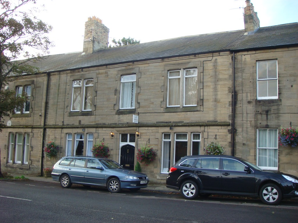 Castleview B&B, Morpeth.  2011