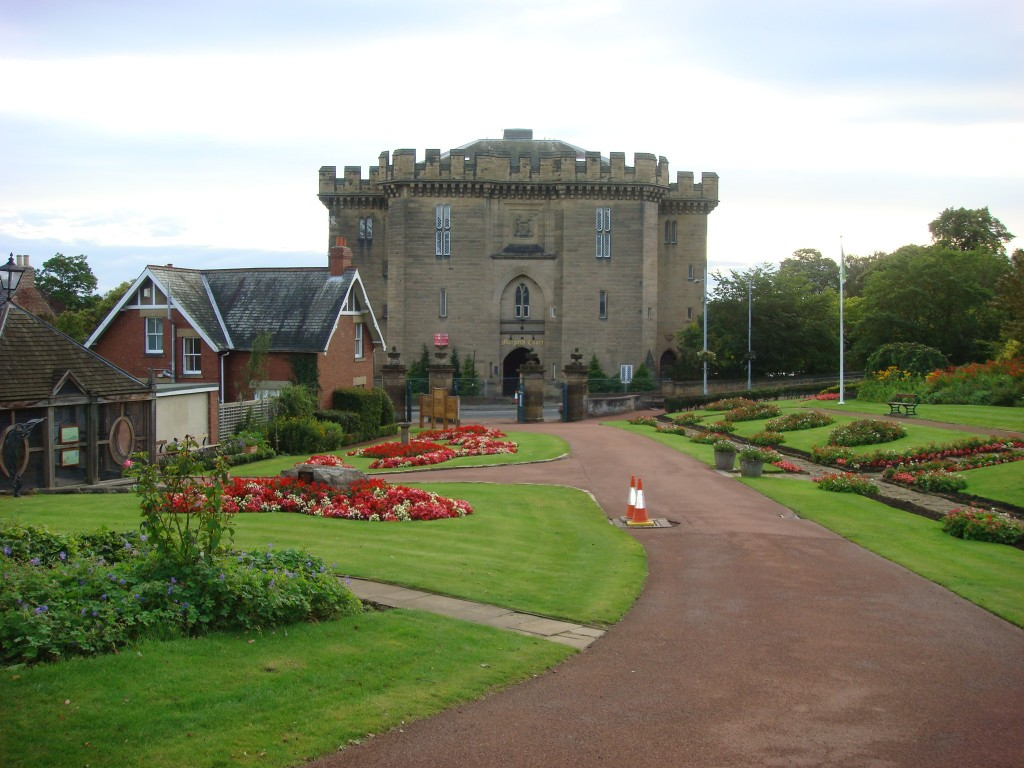 Morpeth Castle, England.  2011