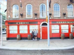 The Ferryman Hotel, Dublin.  2011