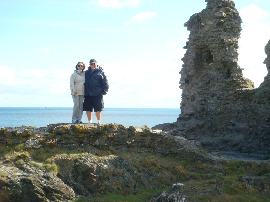Dave and Jenny, The Black Castle, Wicklow, Ireland.  2011