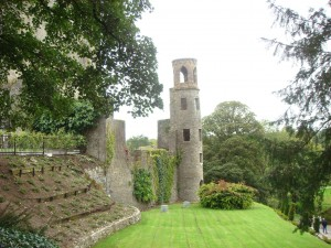 The grounds of Blarney Castle, Ireland.  2011