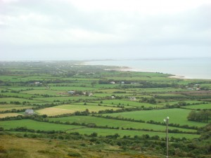 A post card view over every crest, Kerry, Ireland. 2011