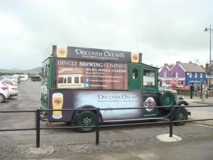 Mobile Billboard, Dingle, Ireland.  2011