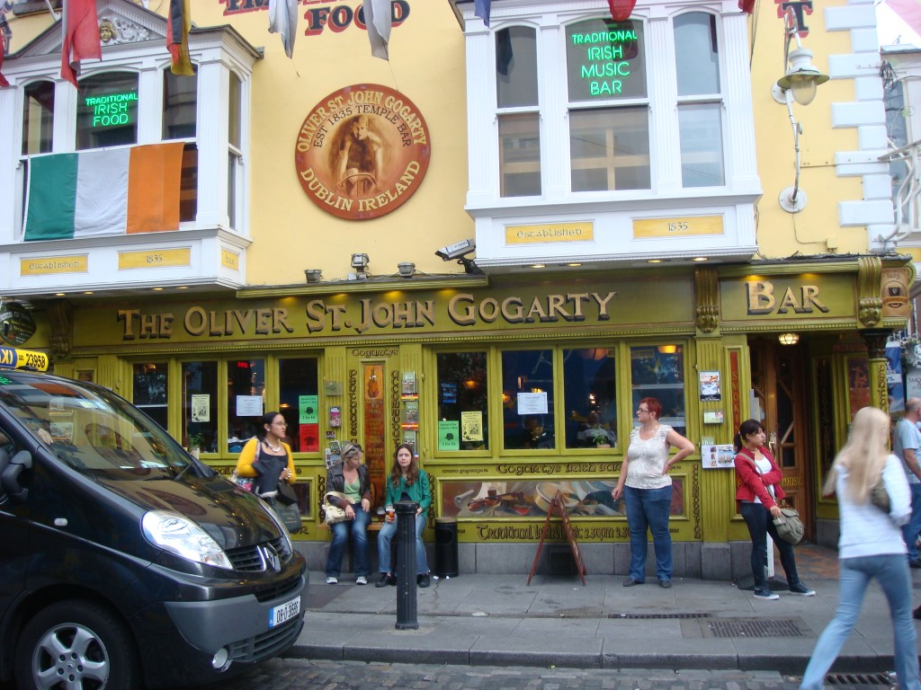 Great name for a pub, but only in the Temple Bar, Dublin.  2011