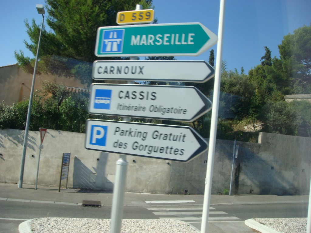 On the road to Cassis, France.  2011