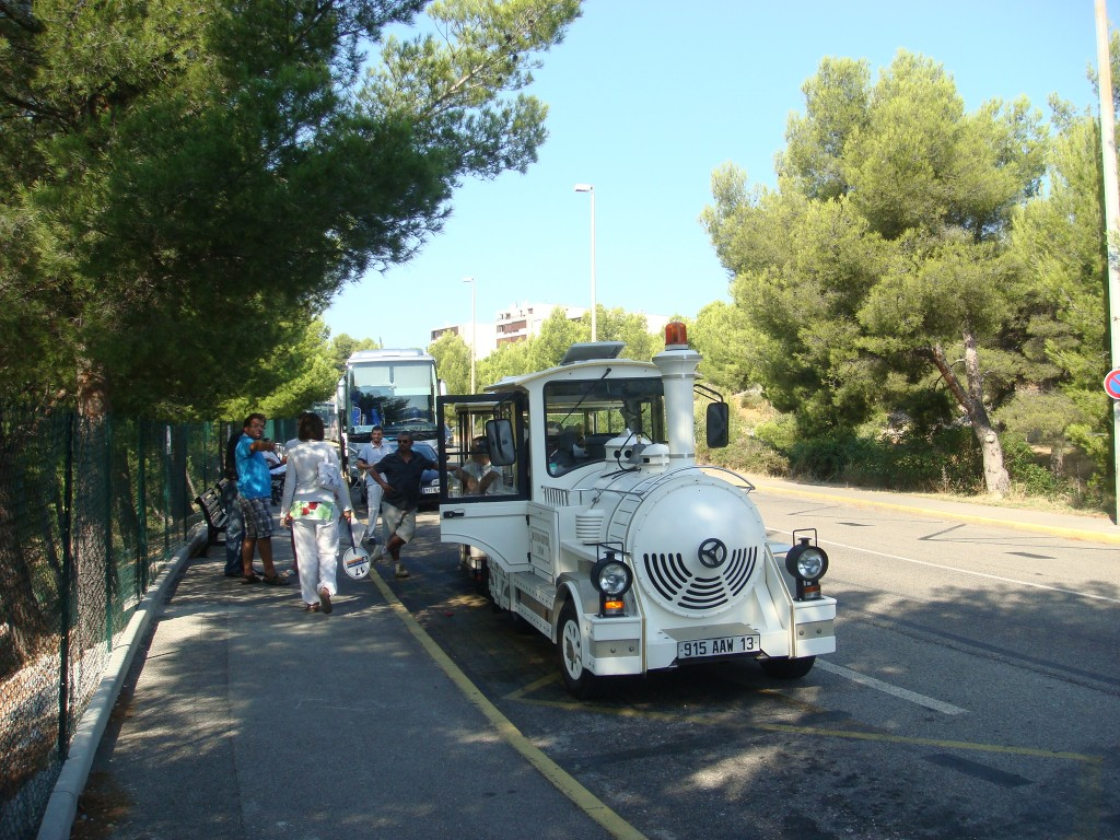 The Petit Train, Cassis, France.  2011