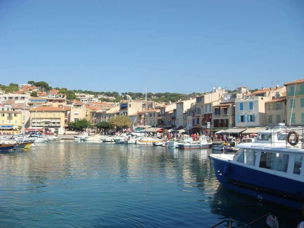 Cassis Harbour and waterfront, France.  2011