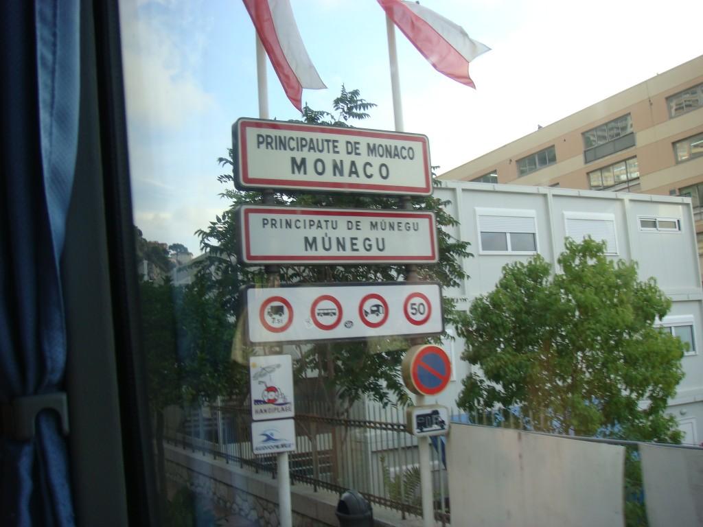 Entering Monaco. 2011