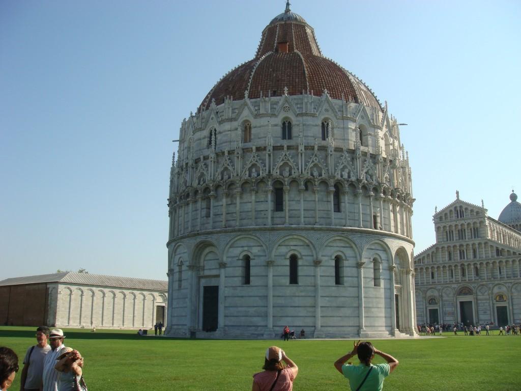 Baptistry of Pisa, Italy.  2011