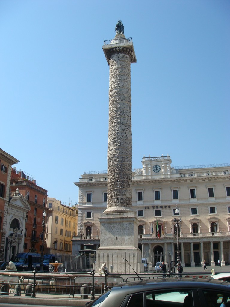 Someones Column, Rome, Italy.  2011