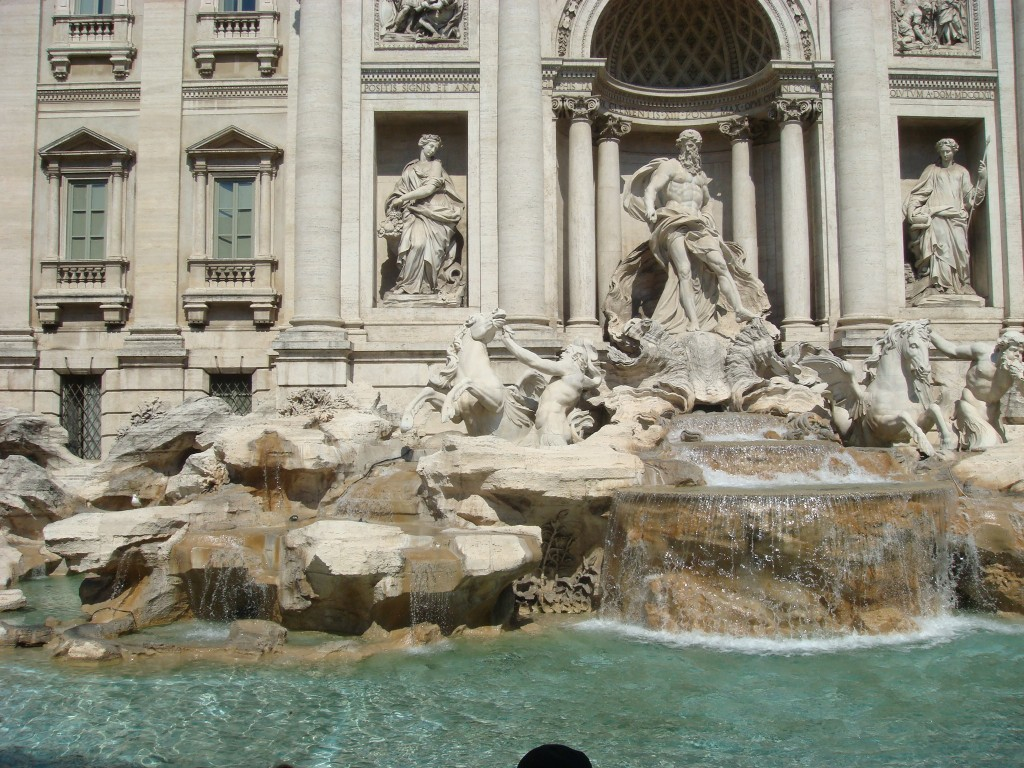 The Trevi Fountain, Rome, Italy.  2011