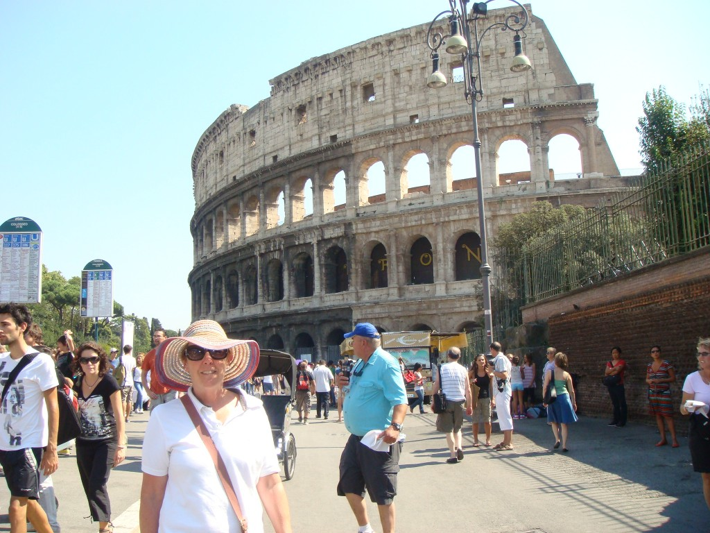 Another one of the bucket list, The Colosseum, Rome, Italy.  2011