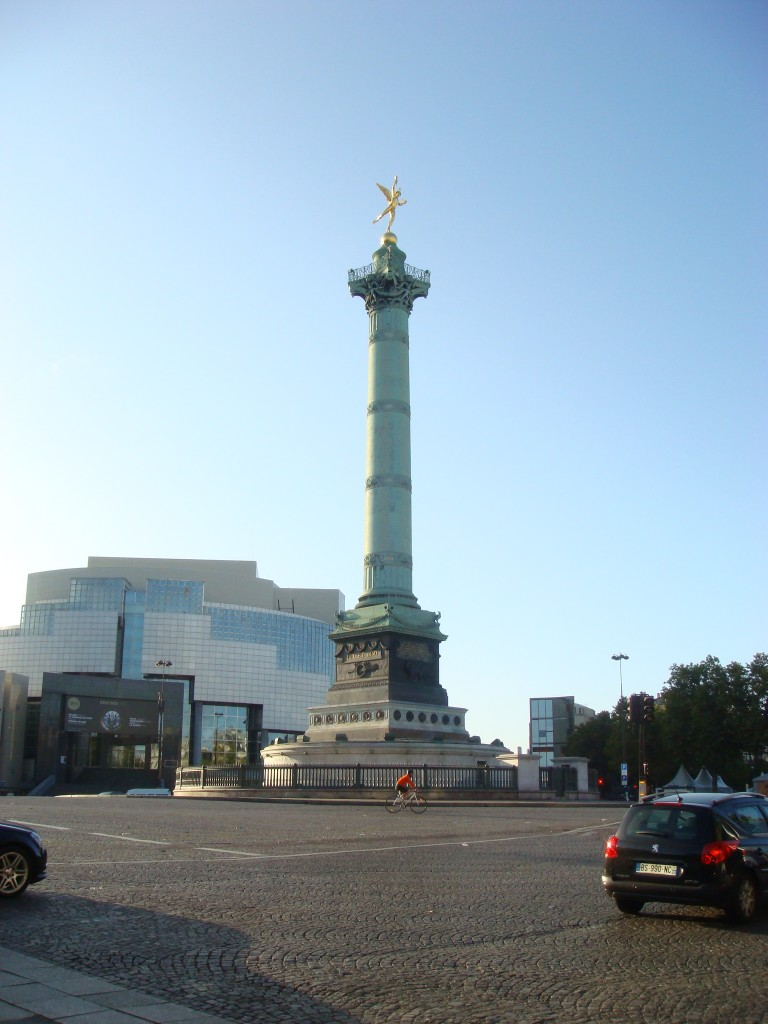 The Bastille, Paris, France.  2011
