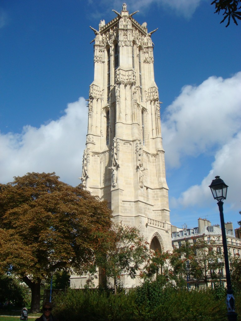 Tower of Saint-Jacques, Paris, France.  2011