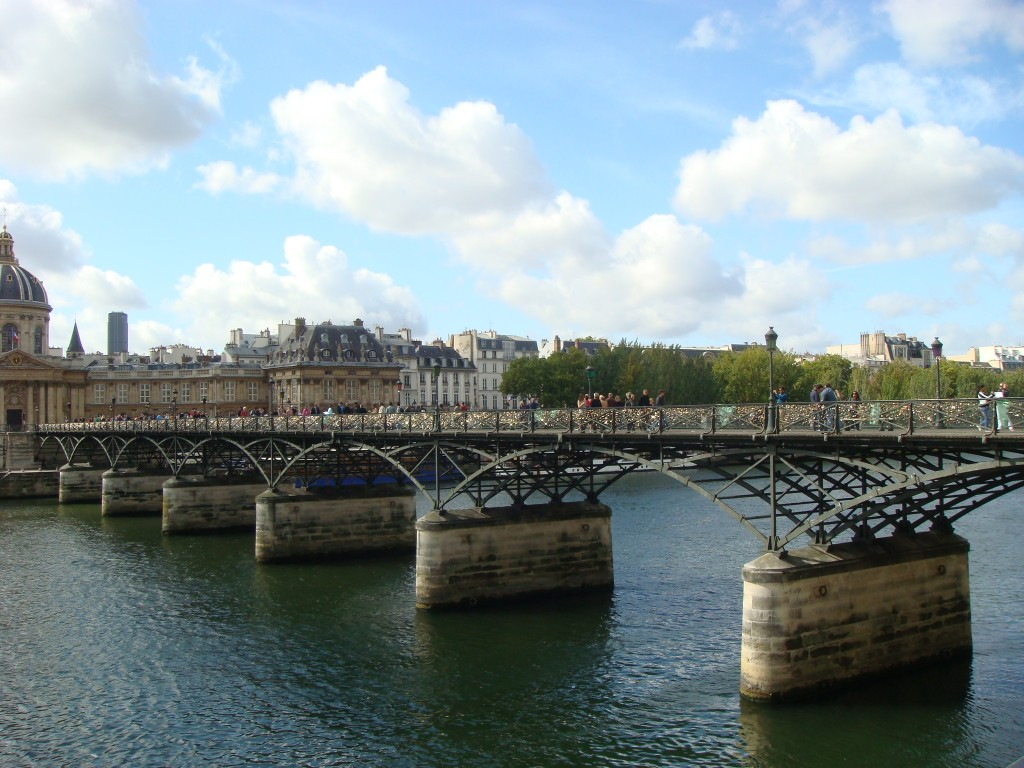 Pont de Arts, Paris, France.  2011