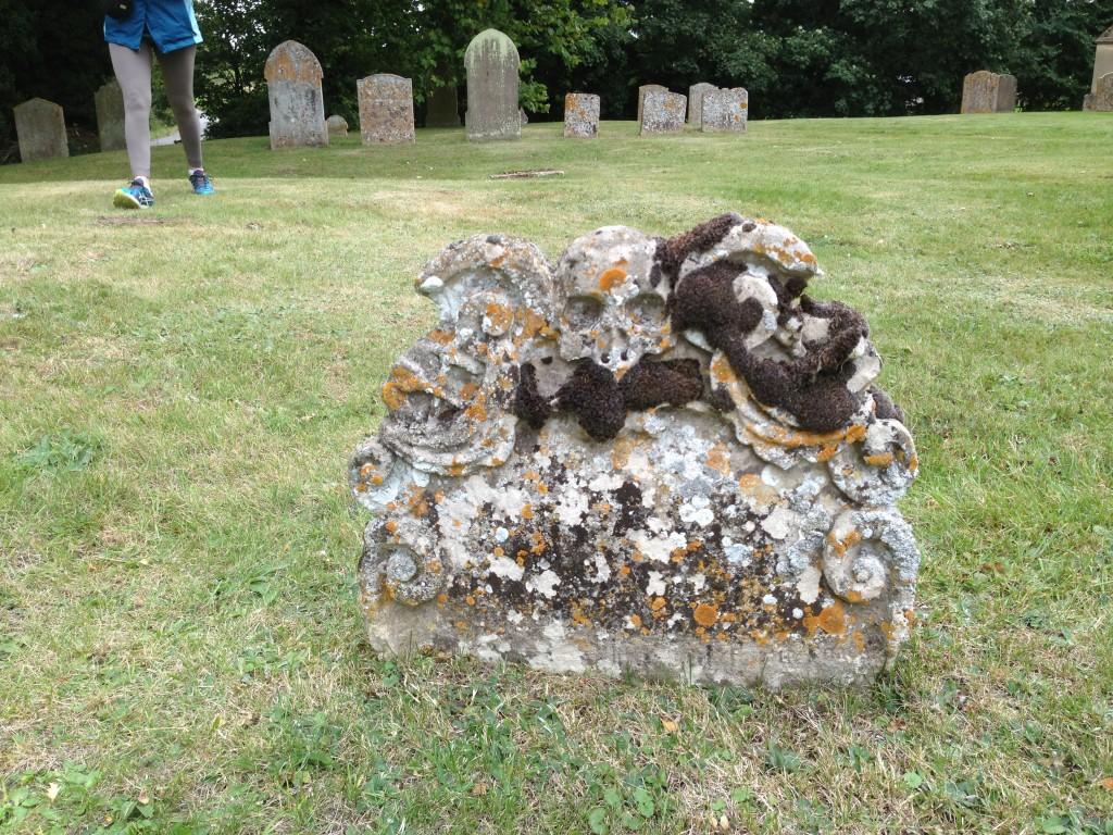 Headstone, Great Thurlow, England.  2013