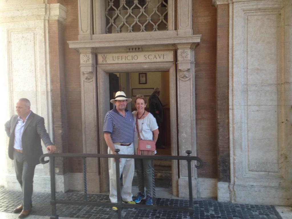 The Scavi Tour, The Vatican City.  2013