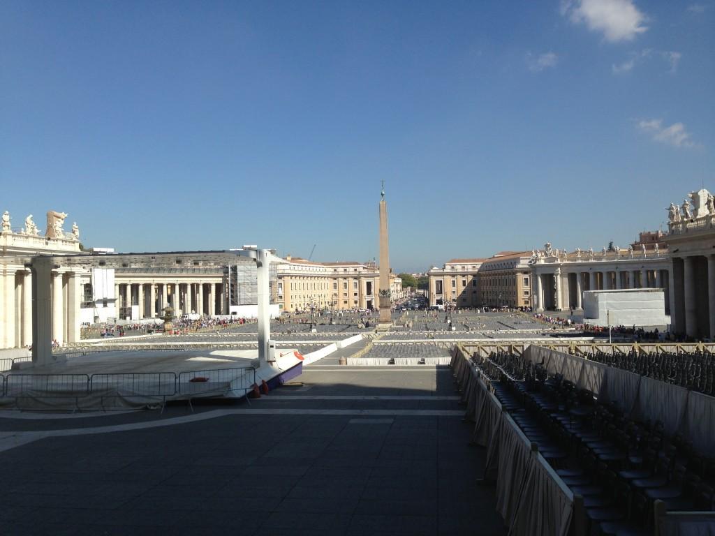 Saint Peter's Square.  2013