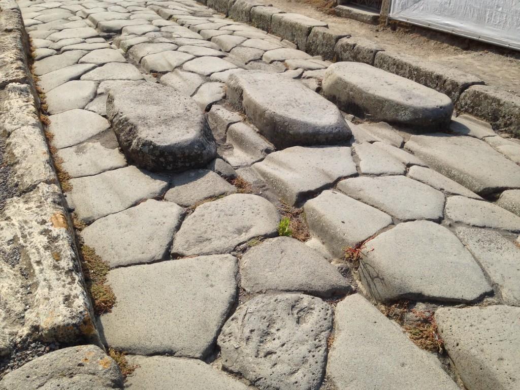 Pompeii Streets, Italy.  2013