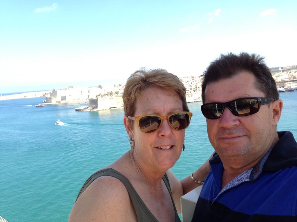 Enjoying Valetta, Malta.  2013