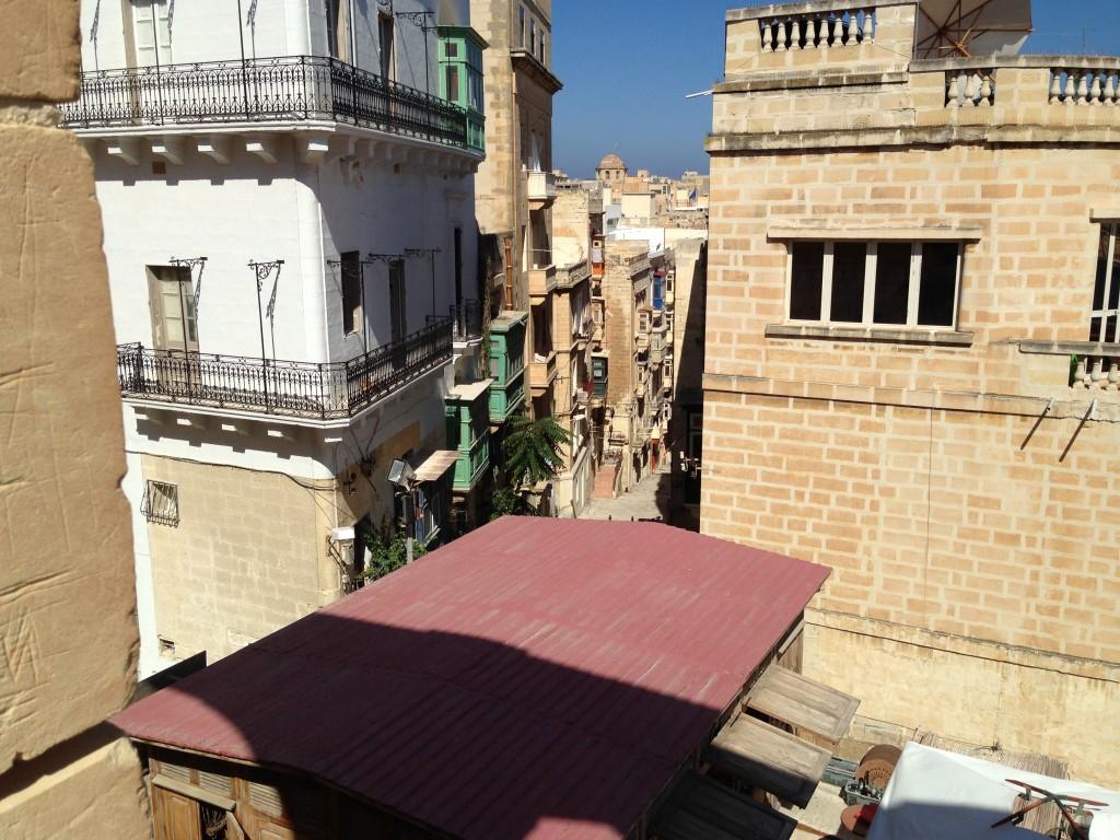 Backs streets of Valetta, Malta.  2013