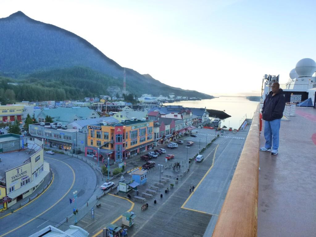 Early morning in Ketchikan, Alaska.  2012