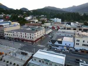 Little did we know that every second shop is a good and jewellery merchant, Ketchikan, Alaska.  2012