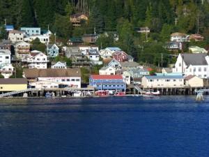 Approaching Juneau, Alaska.  2012