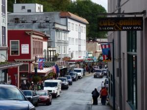 Uptown Juneau, Alaska.  2012