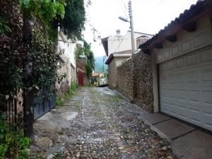 Backstreet of Puerto Vallarta, Mexico.  2012