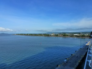 Coming dockside, Puntarenas, Costa Rica.  2012