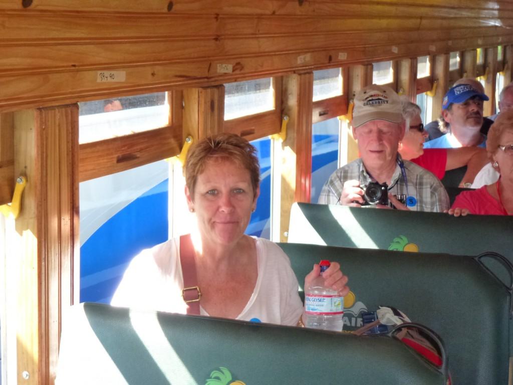 On the Train, Costa Rica.  2012