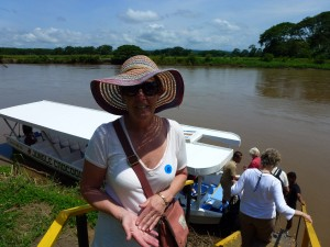 River Cruise, Costa Rice.  2012