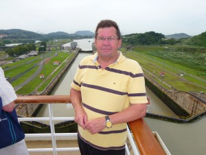 Michael and the Panama Canal. 2012