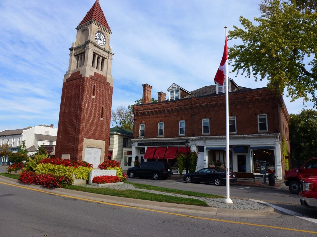 Court and Clock Tower, NOTL, Canada. 2012