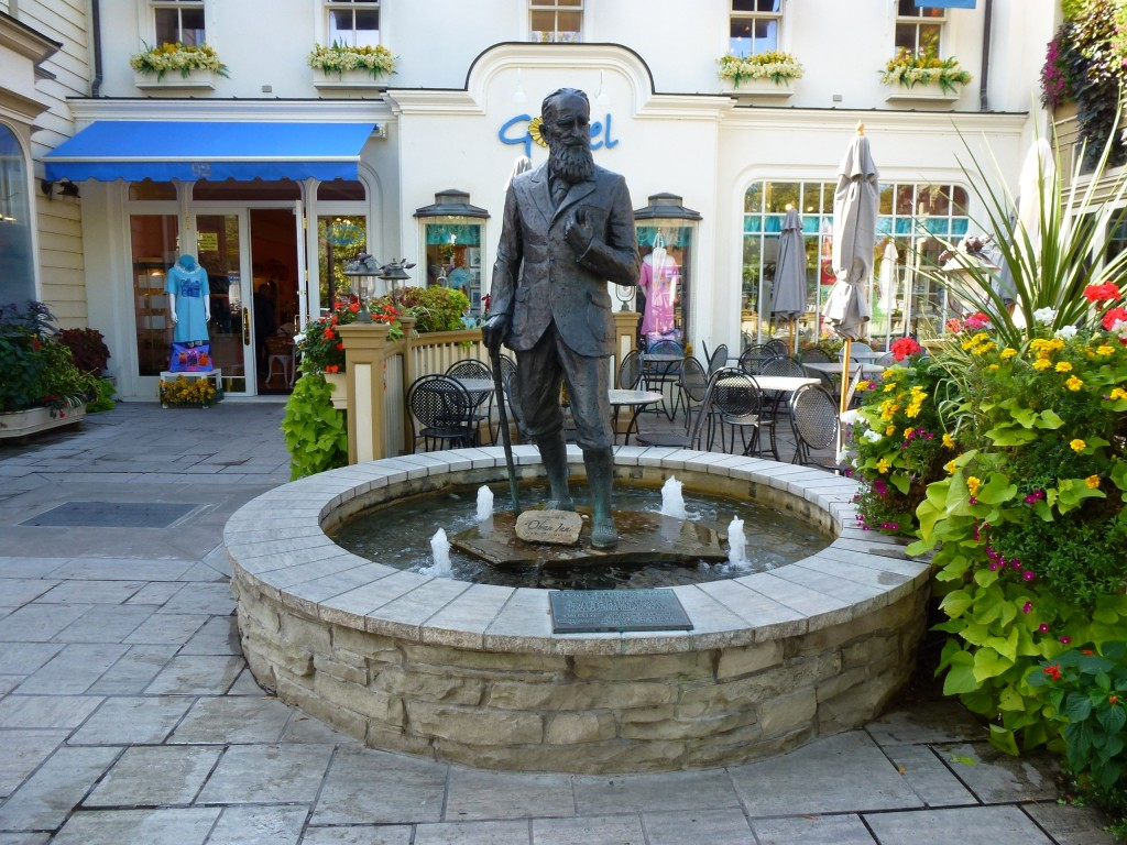 Apparently one of George Bernard Shaw's favourite places, NOTL. 2012