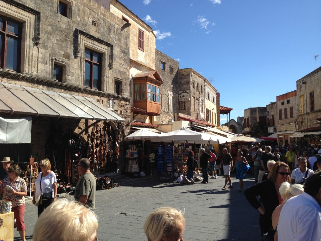 The Markets, The Old City, Rhodes, Greece.  2013
