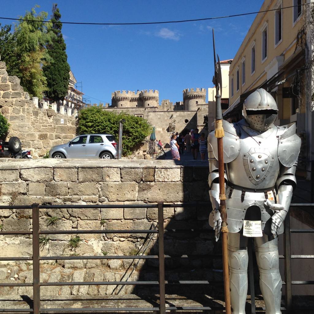 If you need some armour, Rhodes is the place to get it. Greece.  2013