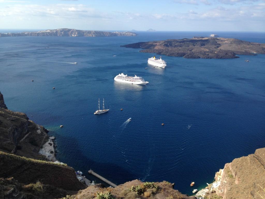 Santorini, The Greek Islands.  2013