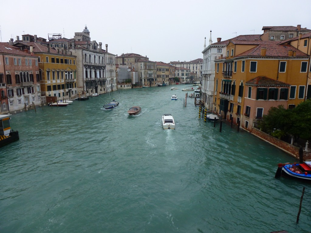 The Grande Canal, Venice, Italy.  2013